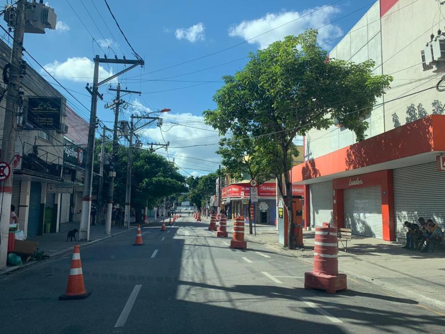 Rua dos bancos Maricá