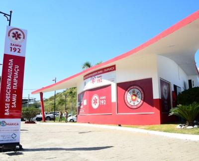 Base Samu Itaipuaçu Foto: Márcio Oliveira / Ascom Mahatma Gandhi