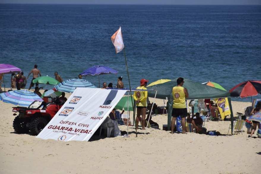 Defesa Civil Maricá praia
