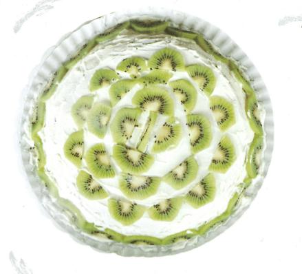Bizkotxoa arrautza eta kiwiakin