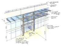 The gallery for --> Building Canopy Design