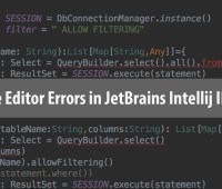 IntelliJ Editor False Errors Solution