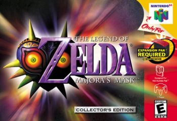 Que c'est poussiéreux, je viens de le sortir de mon grenier !  The Legend Of Zelda Majora's Mask, Nintendo 64