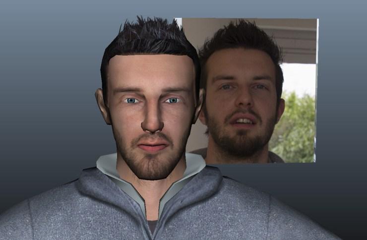 La réalisation à partir de visages réels