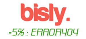 Code promo Error404 -5% Bisly.co