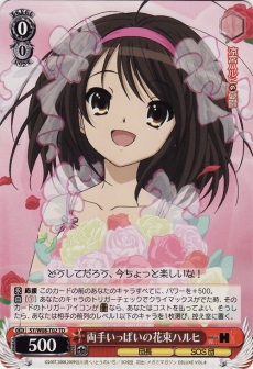 Flowers in Both Hands, Haruhi