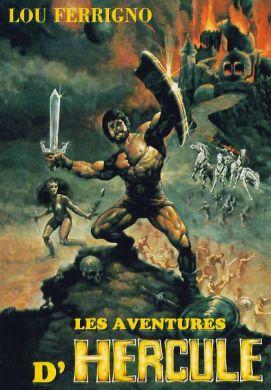L'affiche mensongère du film. Mis à part les muscles de Hulk, tout est faux !