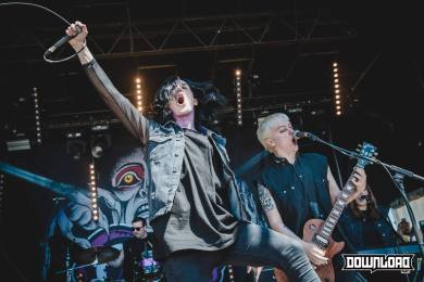 Creeper on stage, Download Festival France 2017 - Dimanche