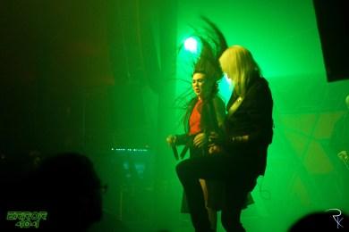 Amaranthe au Cabaret Sauvage. Crédits : Romain Keller