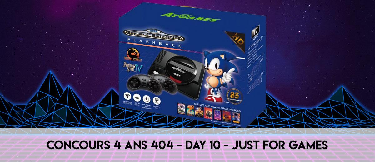 Les 4 Ans 404 – Day 10 – Megadrive