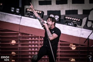 Billy Talent au Download festival Error404 Romain Keller
