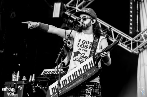Alestorm au Download festival Error404