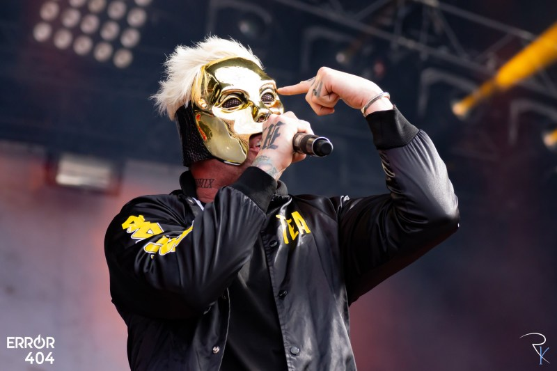 Hollywood Undead au Download festival Error404 par Romain Keller