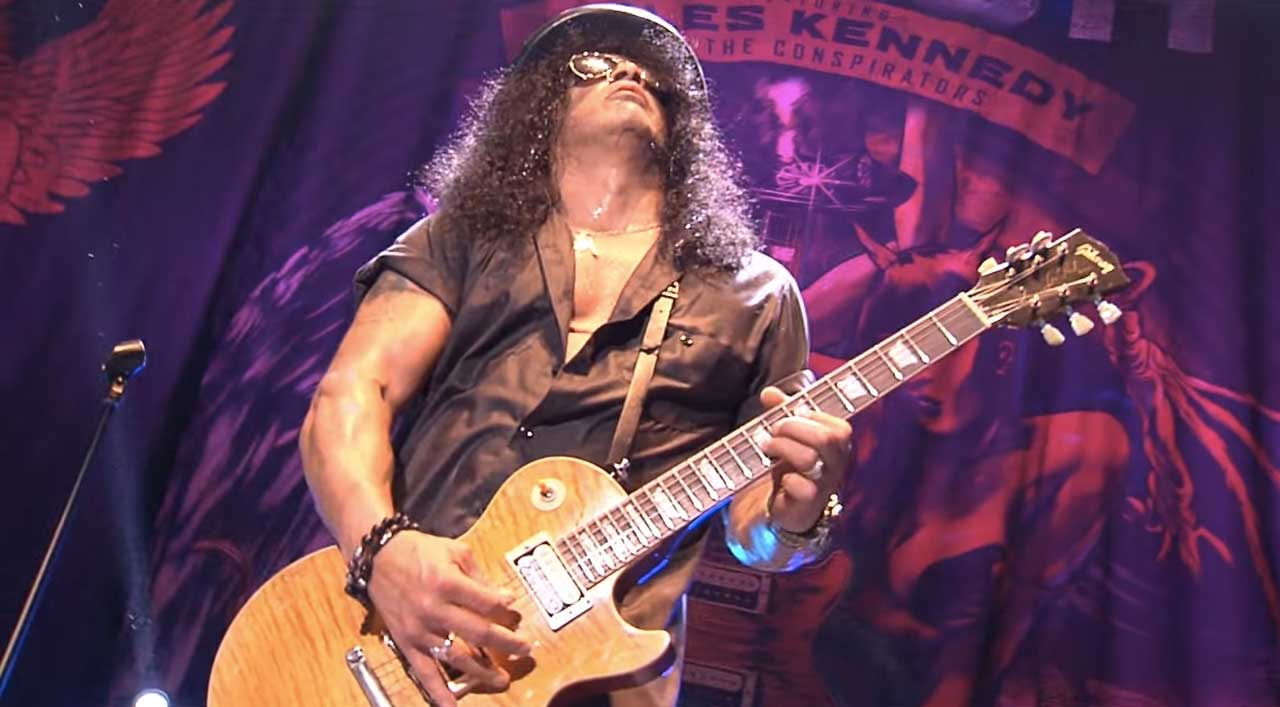 SLASH : Nouvel album à venir : LIVING THE DREAM