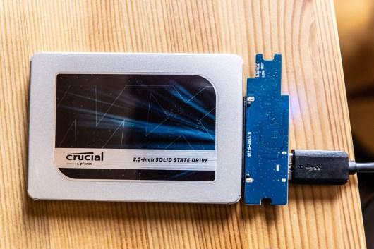 Crucial SSD MX 500 Test Error404