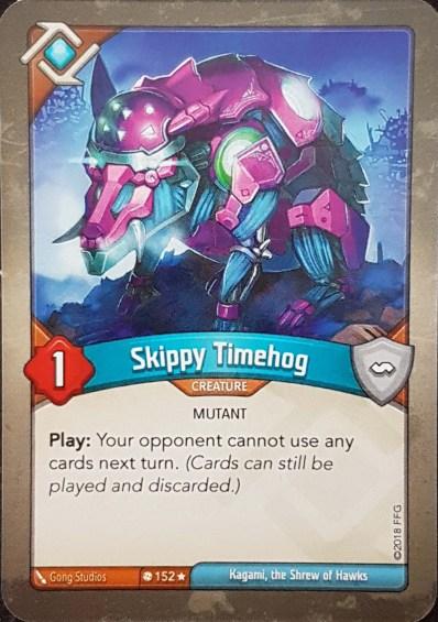 Skippy Timehog - Keyforge