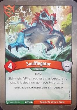Snufflegator - Keyforge