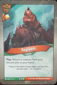 Regrowth - Keyforge