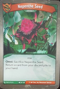 Nepenthe Seed - Keyforge