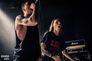 Blood Youth à l'Arena de Vienne en Autriche © Photographie de Romain Keller pour Error404