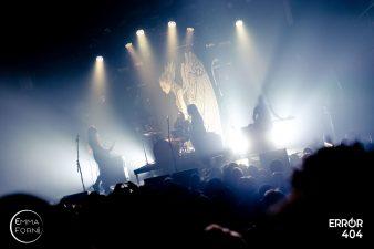 Alcest à La Machine du Moulin Rouge - Emma Forni pour Error 404