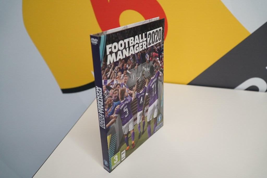 Tältä näyttää Football Manager 2020 -pelin täysin ekologinen pakkaus