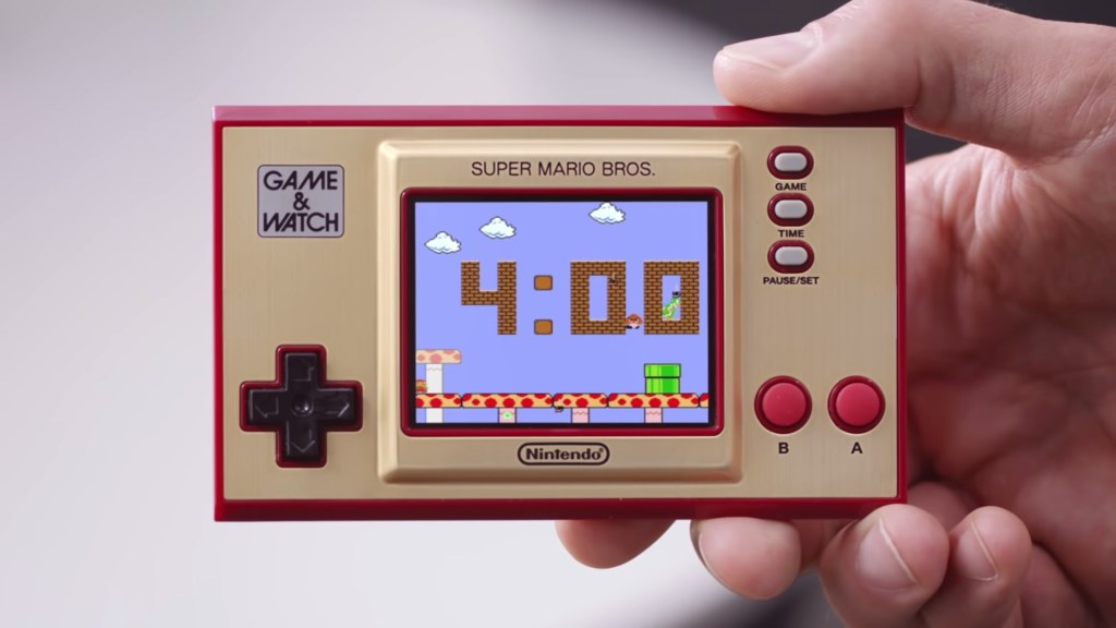 Nintendo Super Mario Game & Watch