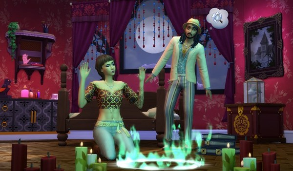 The Sims 4 Yliluonnollista kamaa