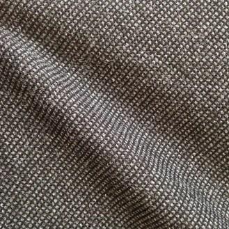 schwarz-graue Webware aus Wolle