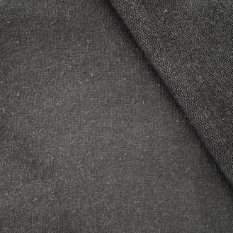 schwarzer Sweat aus Baumwolle/Elastan