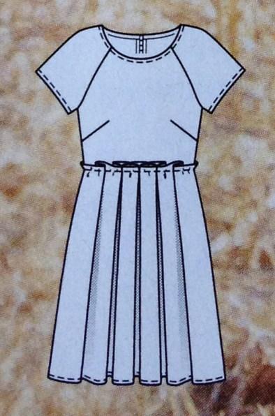 Kleid #114 - Quelle: Burda Style