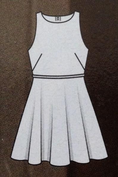 Kleid #101 - Quelle: Burda Style