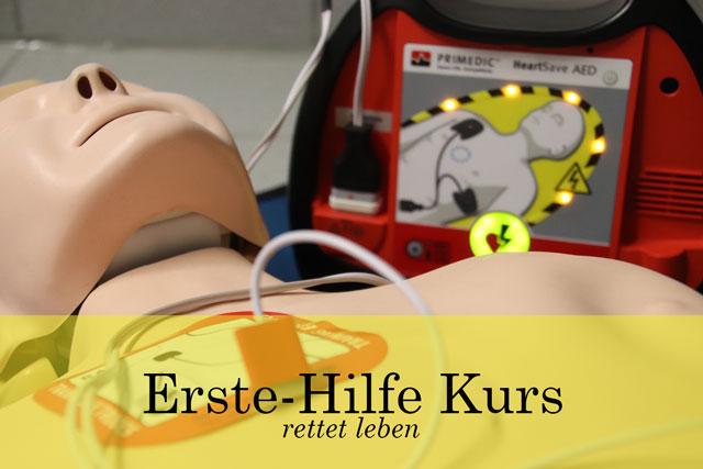 Anwendungsbeispiel für einen Defibrillator