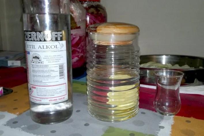 Zernoff etil alkol içilir mi? Etil alkol