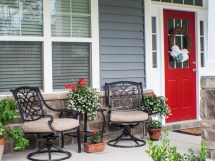 Country Front Porch Decorating