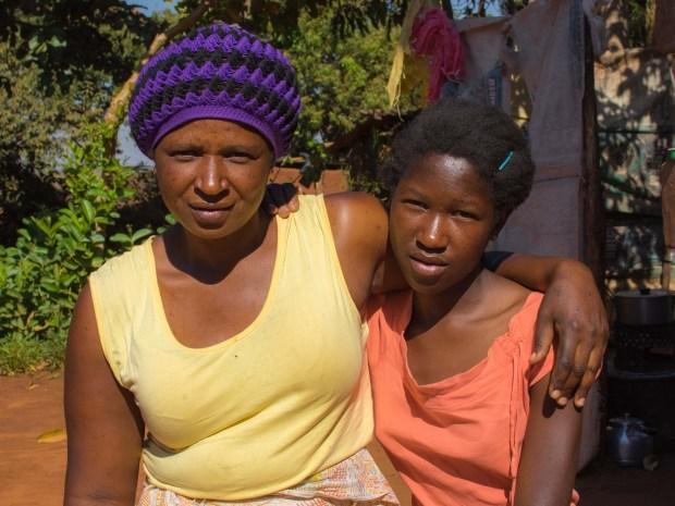 Abigail og hennes mor