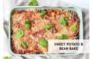 Sweet Potato & Bean Bake