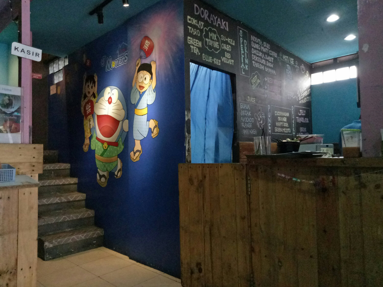 DMoners Home Cafe Cafe unik bertema kartun Doraemon