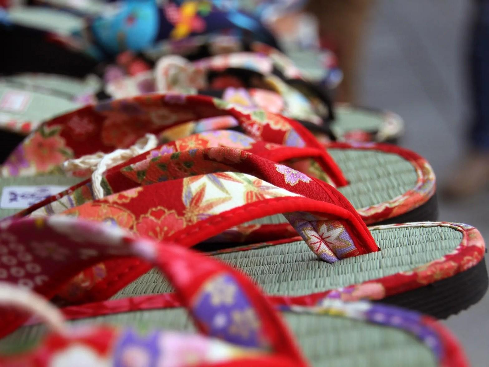 Schoenen in Japan