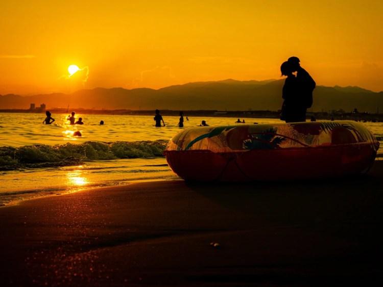 Stranden van Kamakura