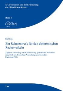 Buch ein Rahmenwerk für den elektonischen Rechtsverkehr