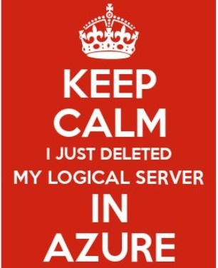 Restore a accidentally deleted Azure SQL Database