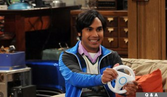 Raj in Big Bang Theory
