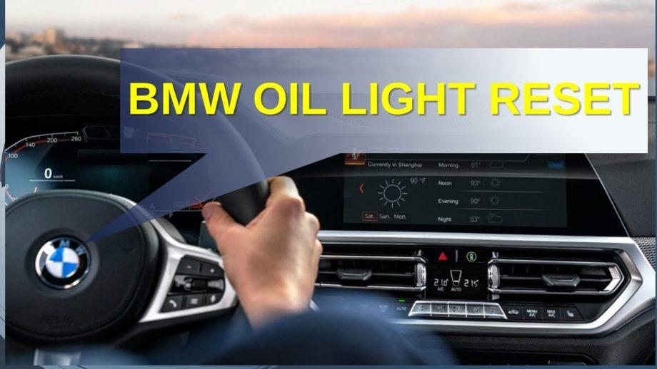 How Much Is An Oil Change For A Bmw >> Bmw Oil Light Reset Reset Oil Light After Oil Change In