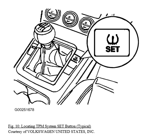 HOW TO: Volkswagen TPMS Reset/Relearn Procedure