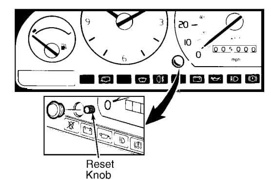 Volvo S70 1998-2000 Service Reminder Light Reset