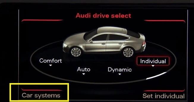 Audi A6 Car System