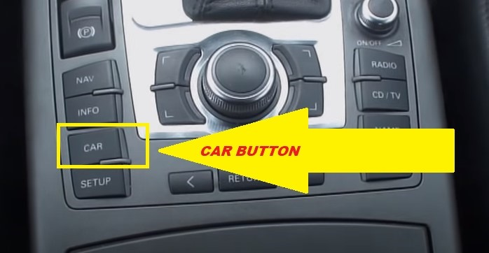 Audi A6 car Button