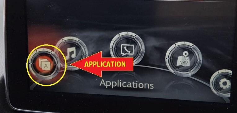 Mazda 2 Maintenance Button