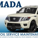 How To Reset Nissan Armada Oil Service Maintenance Reminder